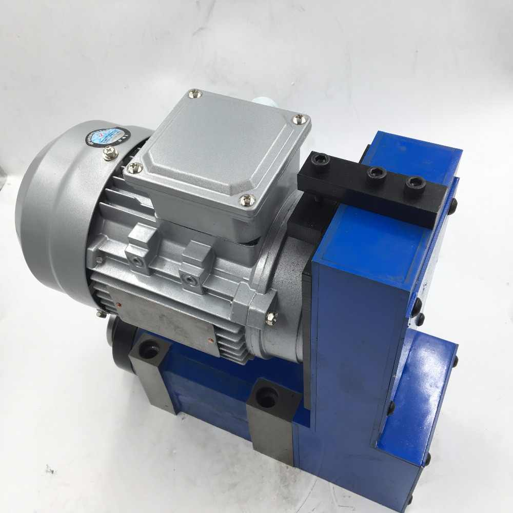 2 2KW MT4 Power Head 5000RPM Spindle Unit V-Belt Spindle Tool Induction  Motor for CNC Milling Machine