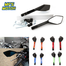 CNC Aluminum 8mm 10mm Rear View Rearview Side Mirrors Motorcycle Accessories For Kawasaki Z900 Z900RS Z800 Z1000 KTM Honda universal 8mm 10mm motorcycle accessories cnc aluminum clutch wire adjustment cable for kawasaki z900 z800 z1000 z750 zx7r zx110