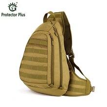 Férfi Nylon Katonai Utazás Lovaglás Cross Body Messenger táskák Man váll táskák Táska Sling mellkasi vízálló táska