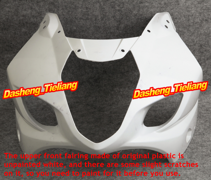 Injection Mold ABS Upper Front Fairing Cowl Nose Bodykit for Suzuki 2003 2004 GSXR1000 K3 injection mold unpainted upper front fairing cowl nose fits for suzuki 2006 2007 gsxr 600 750 k6 abs
