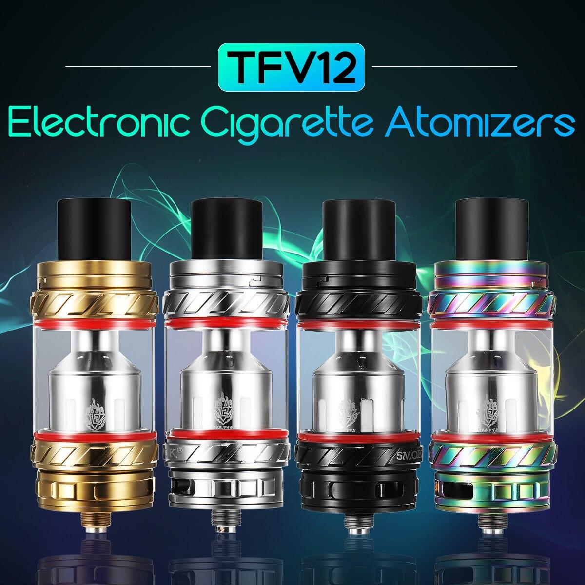 D'origine TFV12 Bête Sous Ohm Réservoir 6 ml TFV12 Électronique E-Cigarette Atomiseurs 510 Fil Vaporisateur Vaporisateur Atomiseur