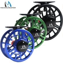 Maximumcatch Fly Reel Machined Aluminium Micro Adjusting Drag Giant Arbor Fly Fishing Reel 3/4/5/6/7/8WT