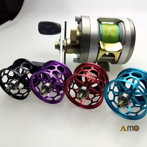 Image 1 - DIY MORRUM BAITCAST FISHING REEL SPOOL MICRO CAST LIGHT WEIGHT SPOOL with holes