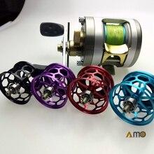 Diy Morrum Baitcast Reel Fishing Spool Micro Gegoten Licht Gewicht Spool Met Gaten