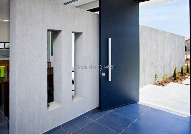 566 25x50x900mm Modern Stainless Steel Entrance Entry Front Wood