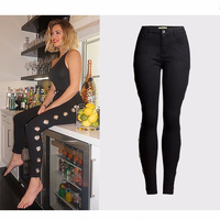 Sexy Black Cool Jeans Women Skinny Denim Pencil Pants Trousers