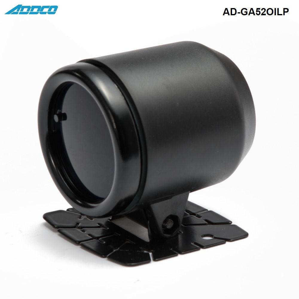 """Авто 12 в 52 мм/"""" 7 цветов Универсальный Масляный Пресс манометр, светодиодный датчик давления масла с датчиком и держателем AD-GA52OILP"""