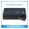 15pcs/lot Official High-Tech Software Supported Zgemma-Star 2S FTA Satellite Receiver With DVB-S2+DVB-S2 Twin Tuners IPTV Box