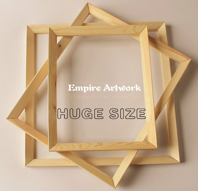 Huge Size Wood Frames For Painting Stretching 2 3 4 5 Pieceset