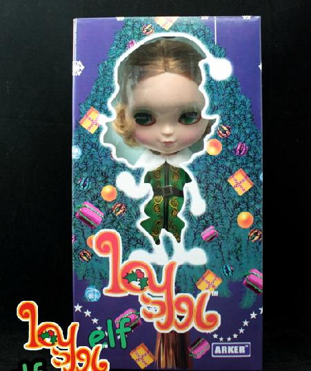 Free Shipping elf ICY-9 DIY Blyth ICY doll birthday gift for girls 4 colour big eyes dolls with beautiful Hair cute toy цена