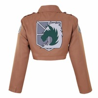Halloween Attack On Titan Shingeki No Kyojin Military Police Eren Jaeger Cosplay Costume Game Anime Japanese