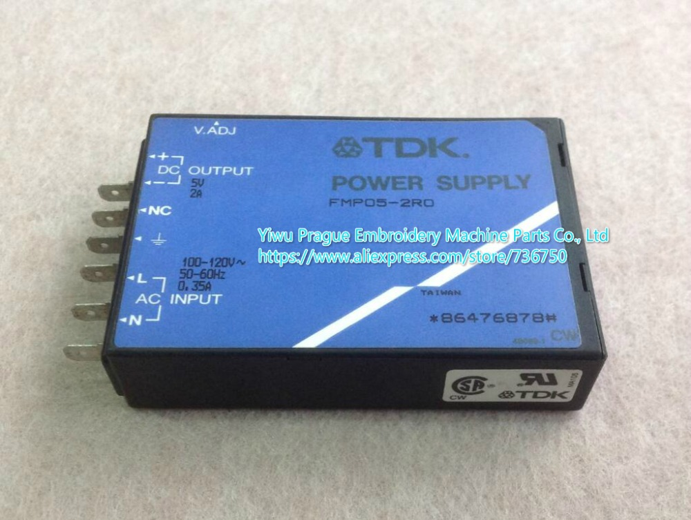 Original Tajima embroidery machine spare parts used TDK power supply FMP05 2R0