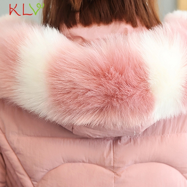 Women Jacket Winter Hooded Thick Fur Cotton Parka Long 2018 Plus Size Ladies Chamarra Cazadora Mujer Coat For Girls 18Oct24 4