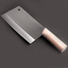 Stainless Steel Wooden Handle Chop Bone Knife Professional Chef Knife Kitchen Accessories Slicing Meat Multifunctional Knife