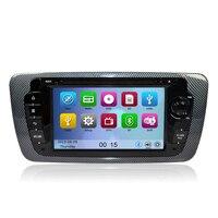 Автомобильный DVD gps навигации плеер для сиденья IBIZA 2009 2010 2011 2012 2013 с радио Bluetooth Can Bus управления рулевого колеса RDS