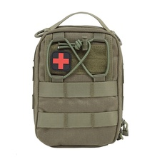 Camping Emergency Bag Kits Black First Aid Pouch Medical Bag Military Kits Survival Kit Hiking Mini Package