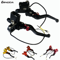 Universal Motorbike 4 Colors Cnc Adelin PX6 Motorcycle Brake Clutch Pump Master Cylinder Lever Handle For