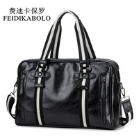 FEIDIKABOLO Leather Men Bag Brand Designed Men Laptop Briefcase Business Bag Men S Handbags Crossbody Messenger
