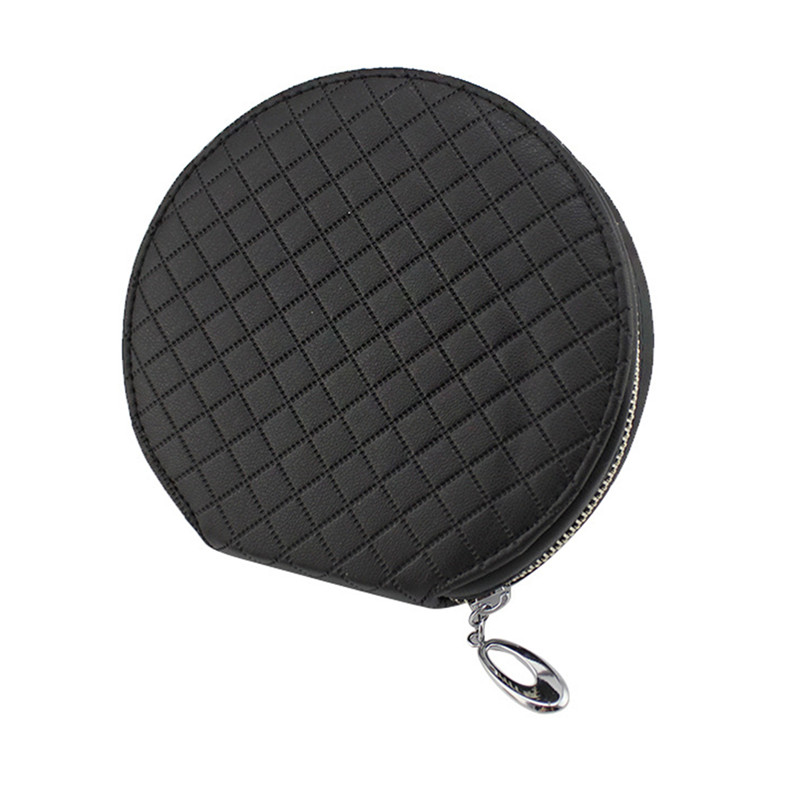 Car Bag Box Cd Bag Disc PU Leather CD VCD DVD Storage Box Car CD Case Bag Wallet Holder For Home Office Car Interior Accessories