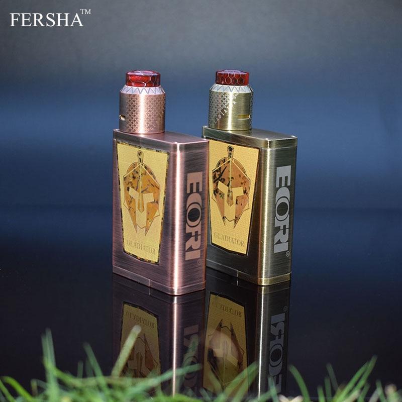 FERSHA Originale Gladiatore ECOFRI Sigaretta Elettronica con 200 W Multimode 510 Gladiatore Mod e RDA Nebulizzatore GT Bobine