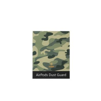 1 Set Camouflage Dust Guard Protective Sticker Earphone Case Shell Skin Dust-proof for Airpods 1/2 Charging Box image
