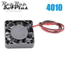 1 PC DC12V 4010 soğutma fanı 1.5x1.5 inç 3D yazıcı J-kafa Hotend için toptan