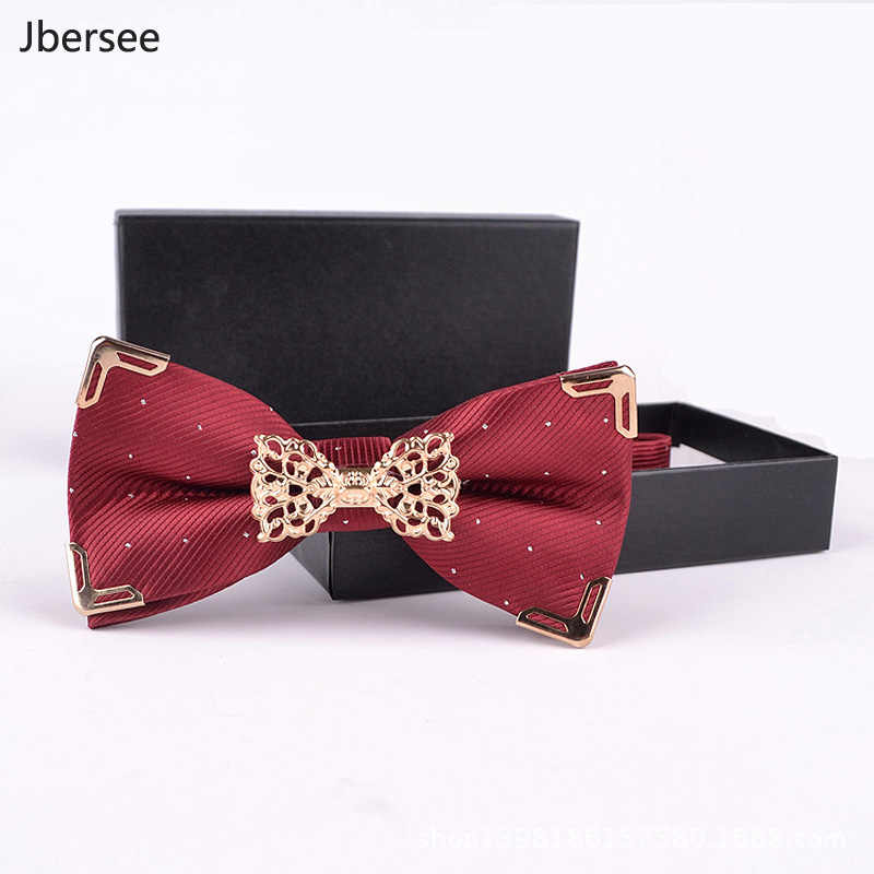 Luxe Merk Vlinder Bowtie Mannen Vrouwen Stropdas Fashion Business Wedding Strikje Dress Mens Shirt Strikjes Gift Gravata Cravatte