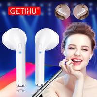 GETIHU Mini Twins Headphones Bluetooth Earphone Phone Sport Headset In Ear Buds Wireless Earphones Earpiece For