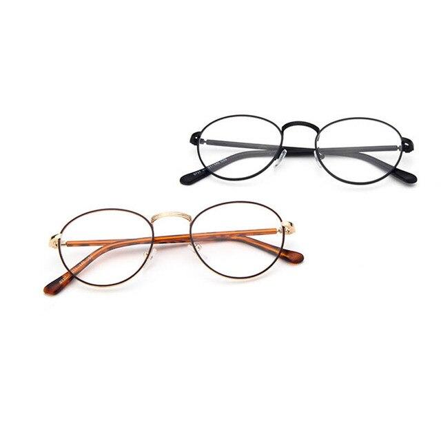 Vintage Retro Eyeglasses Frames Women Men Korean Clear Frame Glasses ...