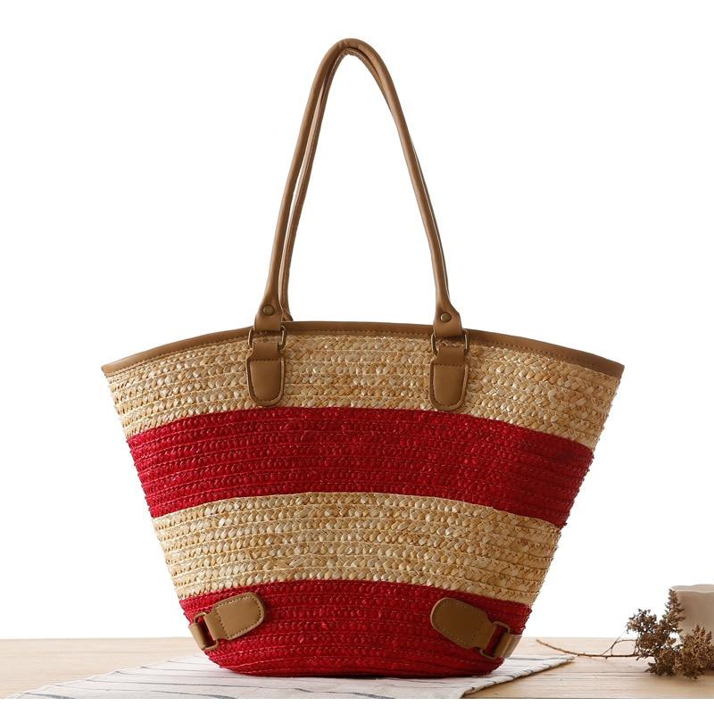Schoudertassen Zomer : Kopen wholesale knit strandtas uit china