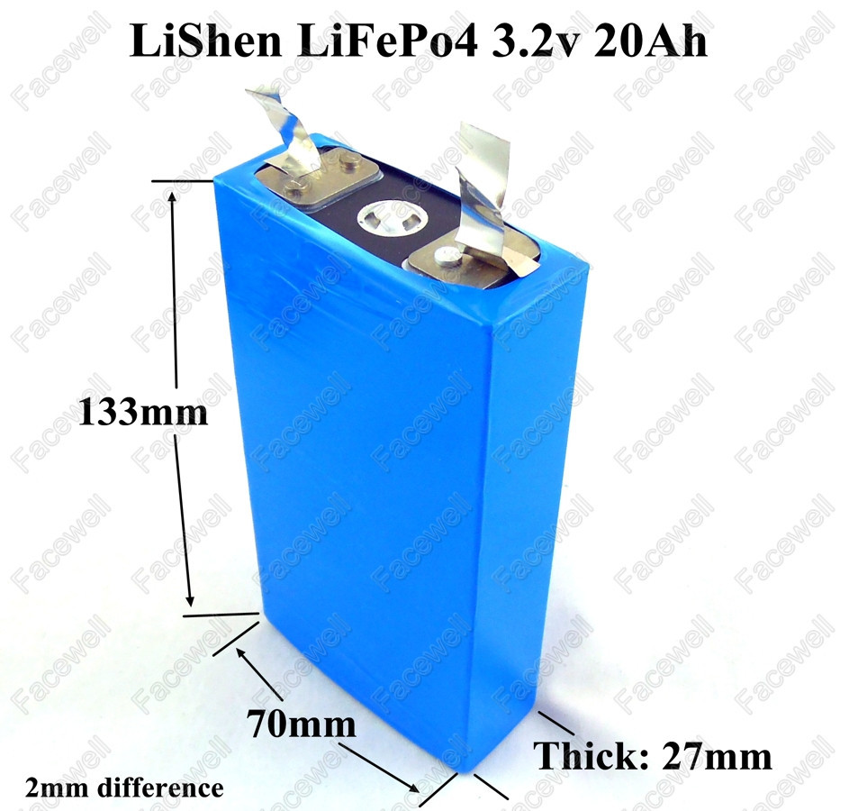 Consumer Electronics 2pcs Brand Real 3.2v 20ah Lifepo4 Cell Lifepo4 50a High Drain Battery For Electric Bike Battery 12v 4s 20ah Pack Diy Power Bike