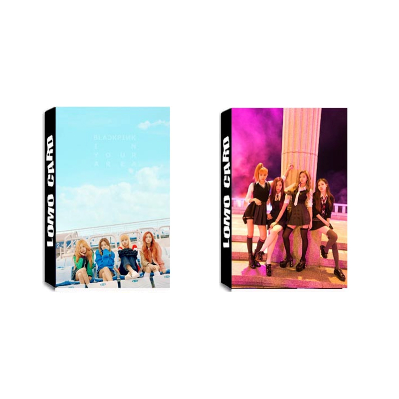 Us 2 09 Kpop Blackpink Playing With Fire As If It S Your Last Album Lomo Cards Self Made Paper Photo Card Photocard In Jewelry Findings Components
