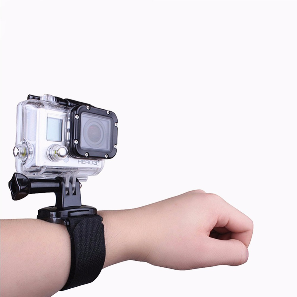360 Degree WristBand For SJCAM 5000 for GoPro three Way stick