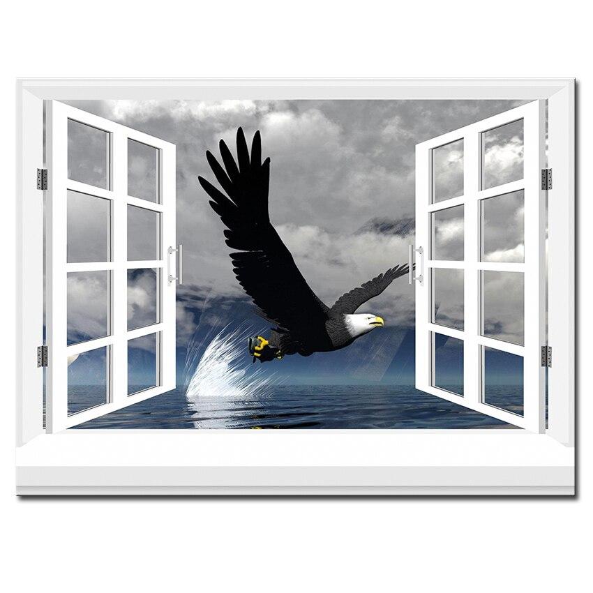 Ventanas de lona compra lotes baratos de ventanas de for Pintura decorativa efeito 3d