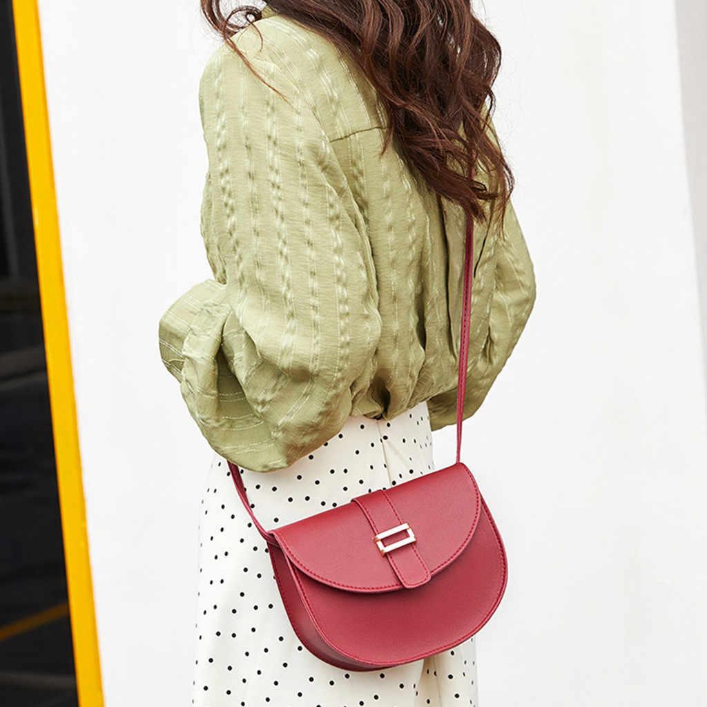Womens Bag Simple All-purpose Small Square Single Shoulder Messenger bolsa masculina woman bag 2019 bolsa feminina