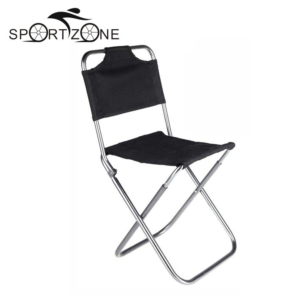 High Quality Foldable Fishing Chair Portable Folding Aluminum Oxford Cloth Ch