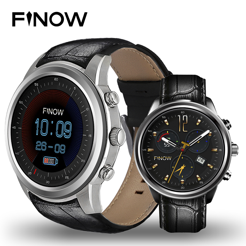 Finow X5 Air Smart Watch Android 5.1 Ram 2GB/Rom 16GB MTK6580 Watchphone 3G Bluetooth for Andorid/IOS PK Ii/I4 pro Smartwatches 2017 new finow x5 air smart watch android 5 1 2gb 16gb wifi 3g gps heart rate monitor bluetooth 4 0 smartwatches pk lem5 watch