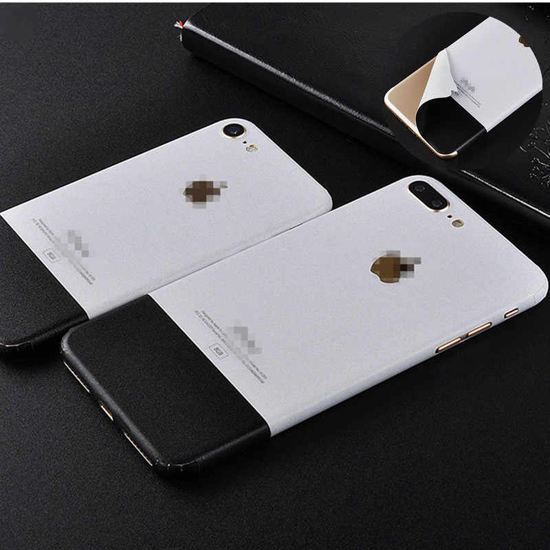 new arrival 74154 aa24c Ice Film Back Sticker Skin For iphone X 6 6s 7 plus 8 Case Protector Film  Mobile Phone Stickers Black White pattern Back Film
