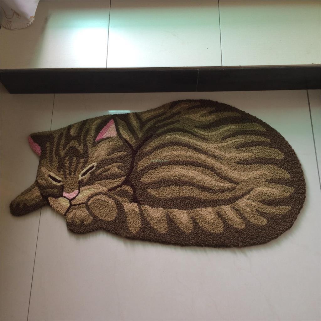 Floor mats to sleep on - Cat Mat New Cute Sleeping Kid Baby Play Children Bedroom Rug Carpet Seat Floor Mat