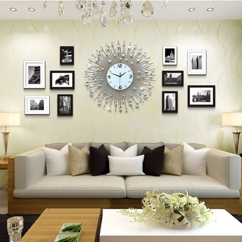 Top 3D Grande Orologio Da Parete Design Moderno Casa Arredamento  SO23