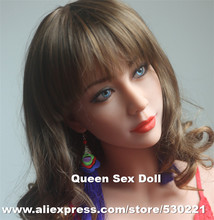 WMDOLL Top quality Tan skin TPE sex doll head for adult doll, sexy doll silicone head, japanese oral sex toy for men