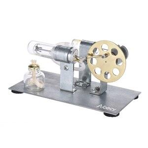 Image 5 - Миниатюрная модель двигателя Aibecy с горячим воздухом для экспериментов по физике, образовательная игрушка