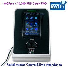 100,000 Log Capacity Touch screen WIFI Facial Recognition Time Attendance wtih Access Control PC Software Linux ZK VF560 VF780(China (Mainland))