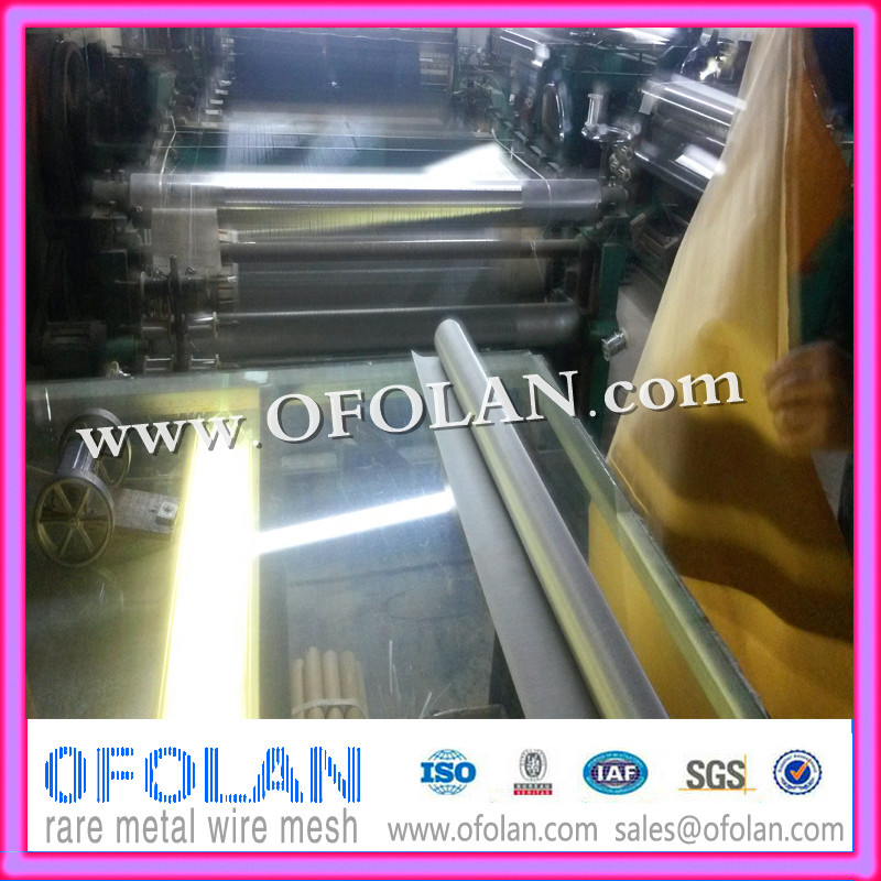 UNS N08904/W.Nr.1.4539 For Isotope Separation Equipment,300 Mesh Filter Wire Cloth 500mm*1000mm Supply From Stock