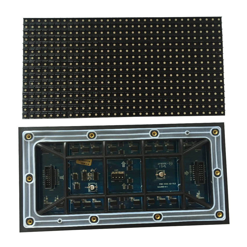 P8 SMD Outdoor RGB LED Module 256*128mm 32x16Dots 1/4Scan, LED Panel For Led Video Wall Display Screen, Pantalla, Billboard