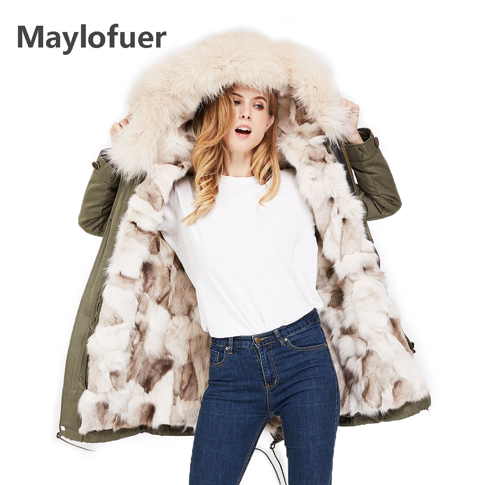 Capot Manteau De Fourrure Chaud Amovible Femmes Manteaux Réel as Renard As pourpre Parkas Photo Laveur as Col Raton En Naturel Photo Doublure Photo Maylofuer xwSa4qF0F