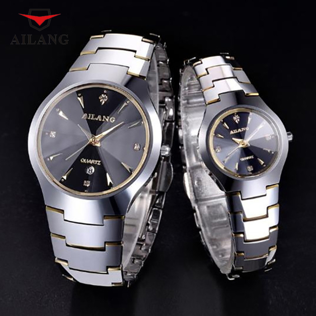 AILANG Simple Fashion Business Stylish Couples Watches Japan Quartz High Quality