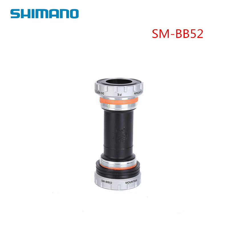 shimano SM-BB52 bb52 Road Mountain BIKE bicycle MTB Bottom Bracket 68mm /73mm Cycling Bearing Round Middle Shaft Axis With Screw