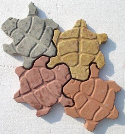 Пластиковые формы для бетонной тротуарной плитки, стен, камня, цементной плитки, плитки для тротуарной плитки «Черепаха», пластиковые формы для тротуарной плитки, Лучшая цена|Наборы для сада|   | АлиЭкспресс