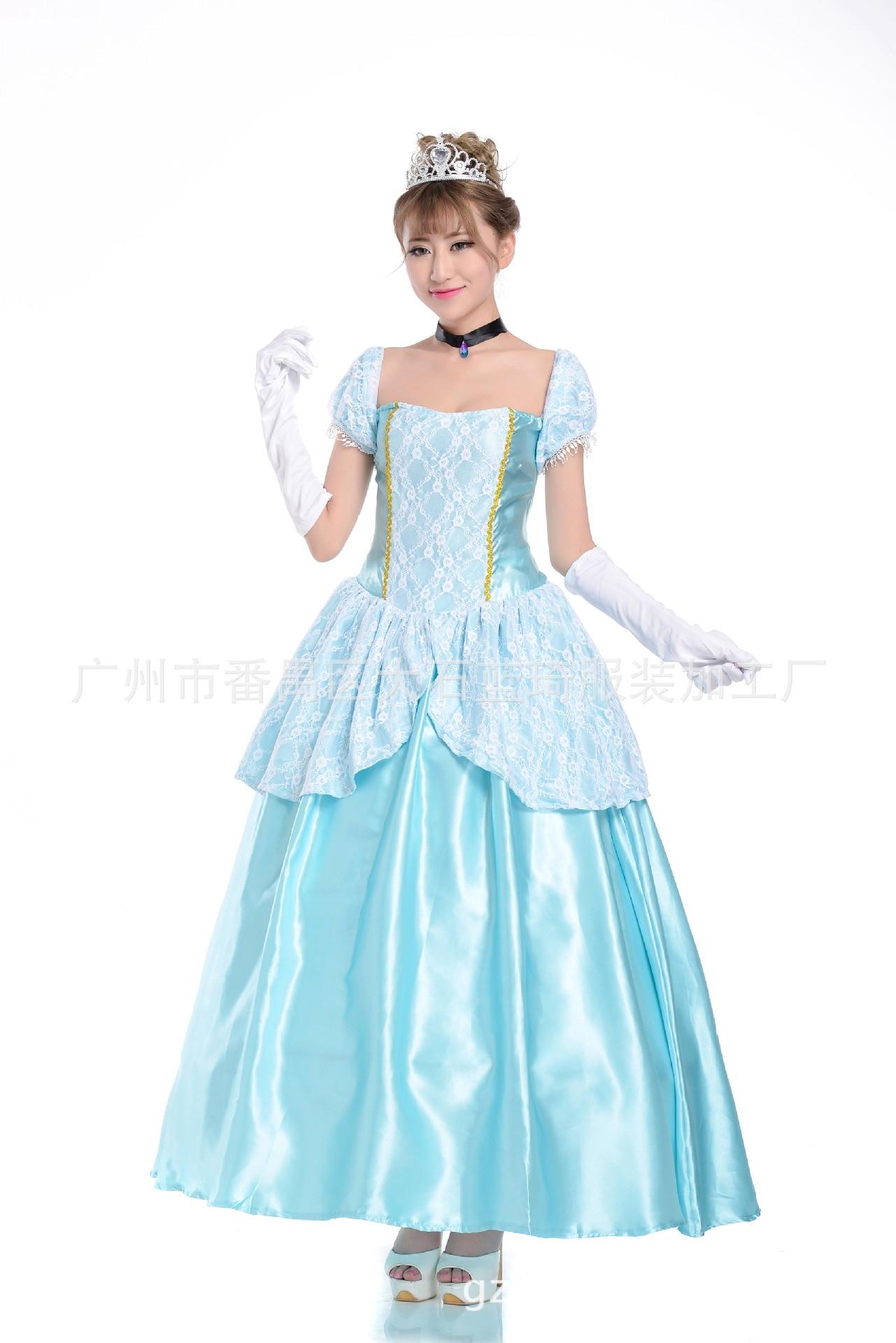 White apron alice wonderland costume - Halloween Costumes Womens Adult Alice Wonderland Costume Suit Maids Lolita Fancy Dress Cosplay Snow White For